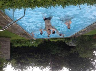 Zoë's swimming party