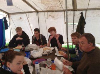 Troop supper