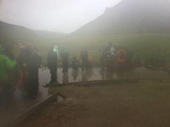 Hot springs, wet hike